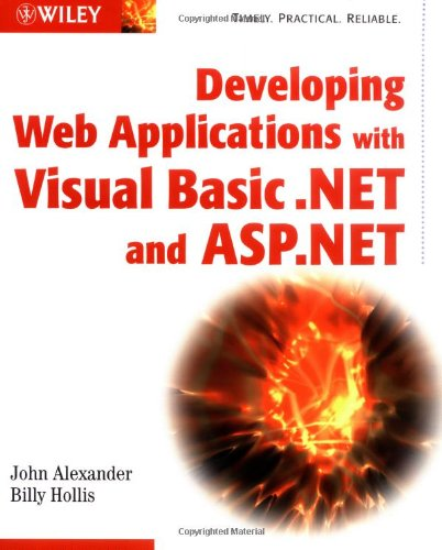 Developing Web Applications with Visual Basic.NET and ASP.NET by Wiley