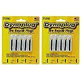 Dynaplug - Tapones de reparación para neumáticos sin cámara, Fabricados en Estados Unidos, 2 Packs of 5