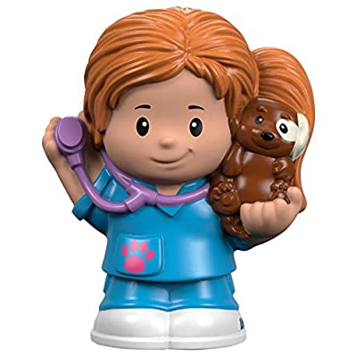 Fisher-Price Little People Veterinarian Kianna: Toys & Games