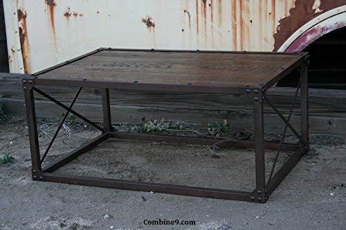 Beautiful Rustic Coffee Table, Modern/industrial, Reclaimed Wood, Minimalist, Urban