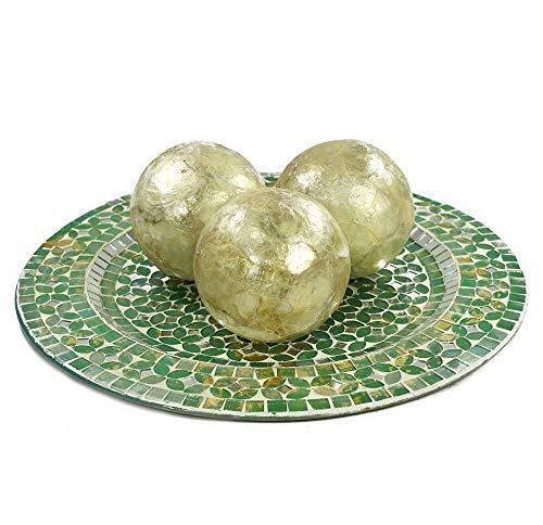 - Decorative Capiz Balls Kitchen & Living Room (4