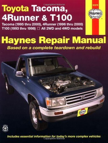 2001 toyota tacoma manual amazon com rh amazon com Toyota Tacoma Electrical Wiring Diagram 2001 toyota tacoma repair manual free