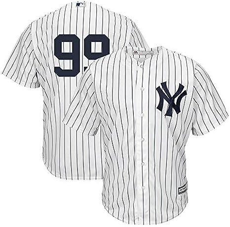 Franklin Sports New York Yankees Aaron Judge 99# - Camiseta de manga corta para hombre, S, White Replica: Amazon.es: Deportes y aire libre