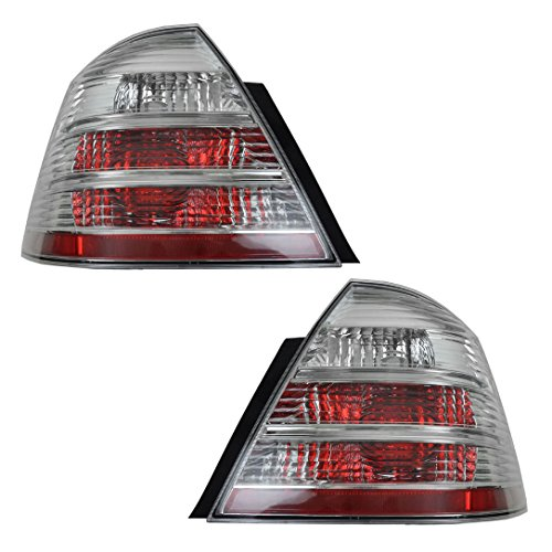 Rear Brake Light Lamp Taillight Left & Right Pair Set of 2 for 08-09 Ford Taurus