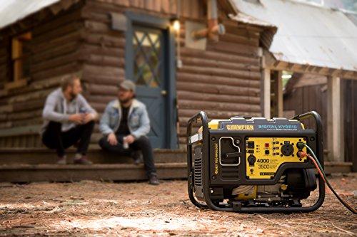 ... Champion 3500 Watt RV Ready Digital Hybrid Portable Generator With  Quiet Technology · Previous · / Next