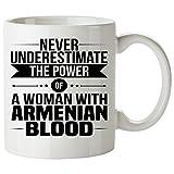 Never Underestimate ARMENIAN Coffee Mug