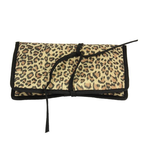Household Essentials Travel Jewelry Leopard