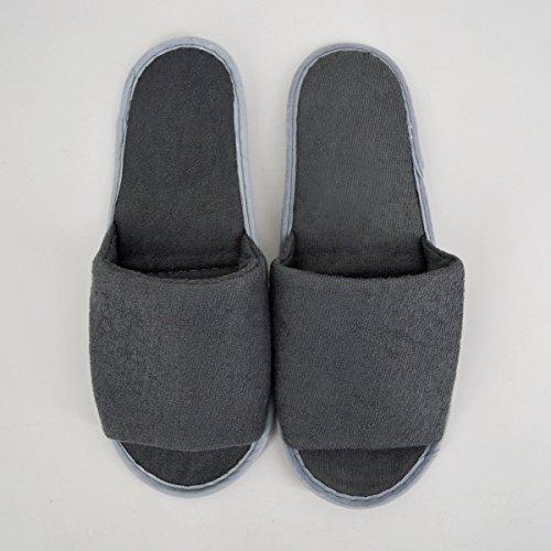 Slipper Home Slipper Grey YAOSEN Storage Men Foldable Bag with Travel Shoes Portable Fabric 0xtYUq4