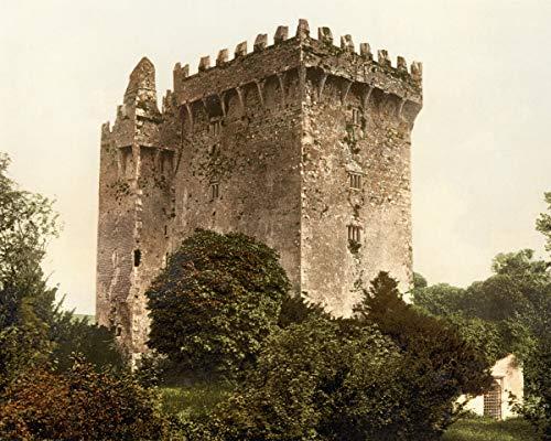 Blarney Castle - ClassicPix Photo Print 8x10: Blarney Castle. County Cork, Ireland, Circa 1890