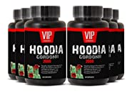 Super Hoodia Gordonii Extract Plus - Pure Hoodia Gordonii Extract 2000mg - Hoodia Gordonii Highly Effective Appetite Suppressing (6 bottles 360 capsules)