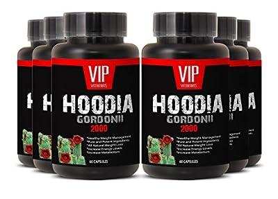 Super Hoodia Gordonii Extract Plus - Pure Hoodia Gordonii Extract 2000mg - Hoodia Gordonii Highly Effective Appetite Suppressing (6 bottles 360 capsules)