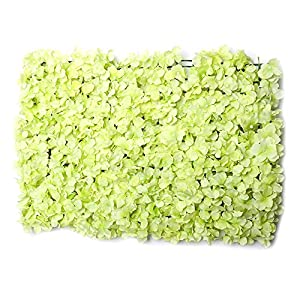 YD Background Wall - Artificial Plant Wall Romantic Artificial Rose Wall Panel, Artificial Flower Wall Wall Decoration (4 Color Choice) /& 87