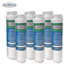 Aqua Fresh WF279 Replacement Refrigerator Water Filter: - Comparable to 644845/UltraClarity REPLFLTR10 Bosch Refrigerator Filter- Reduces contaminants and impurities from your drinking water while keeping it odor-free- Filter lasts for upto 6...