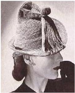 #2251 MARTA HAT AND BAG VINTAGE CROCHET PATTERN