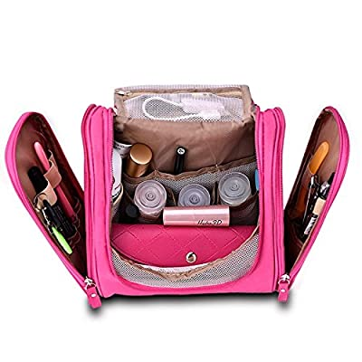 7f64ed28f0 best American Trends Travel Toiletry Bag Hanging Cosmetic Organizers  Bathroom Kit