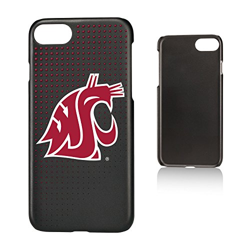 Keyscaper KSLMI7-0WST-DOTS01 Washington State Cougars iPhone 8/7 Slim Case with WSU Dots ()