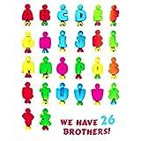 FAVTOY ISLAND - 32 Pieces Educational Alphabet