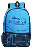 POLE STAR Hero Polyester 32L Sky & Navy Blue Casual Backpack