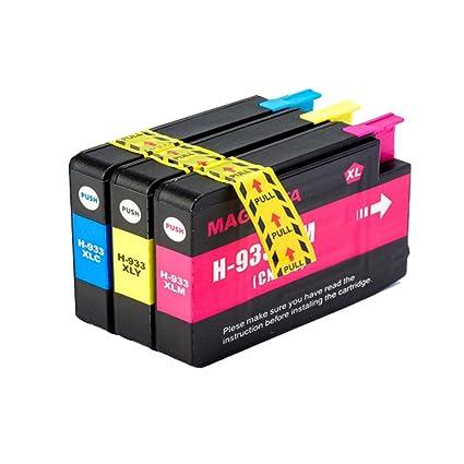 Teng® - Cartuchos de Tinta compatibles para HP 932 XL 933 XL 932XL ...