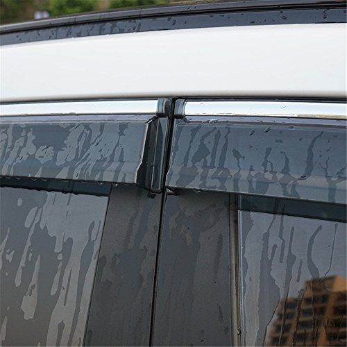 Car Window Rain Guards >> Kust yd315w Auto Window Rain Guards, Rain Guards for Car Window,Window Deflector Fit for 2016 ...