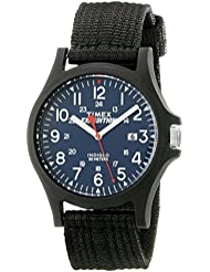 Timex Mens TW4999900 Expedition Acadia Blue/Black Nylon Strap Watch