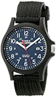 Timex Men's TW4999900 Expedition Acadia Blue/Black Nylon Strap Watch