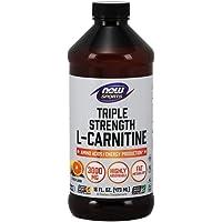 Sports Nutrition, L-Carnitine Liquid, Triple Strength 3000 mg, Citrus, 16-Ounce - New
