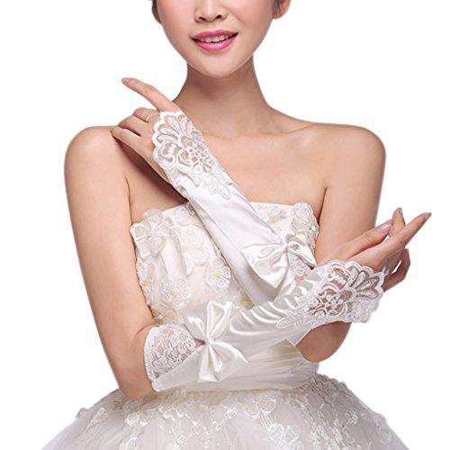 Wedding Bridal Elastic Gloves Elegant