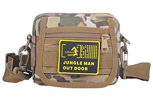 Ubasics Men's Travel Climbing Sling Book Bag Camouflage One Size