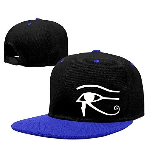 (Egyptian Logo Eye Of Horus Halloween Men Flexible Baseball Snapback Hat)