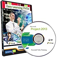 Easy Learning Learn Microsoft Project 2013 Video Training (DVD)