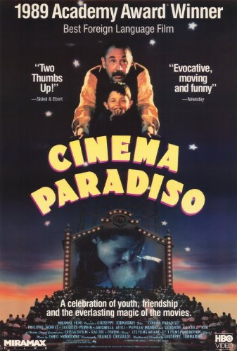 Amazon.com: Cinema Paradiso 27 x 40 Movie Poster – Style B ...