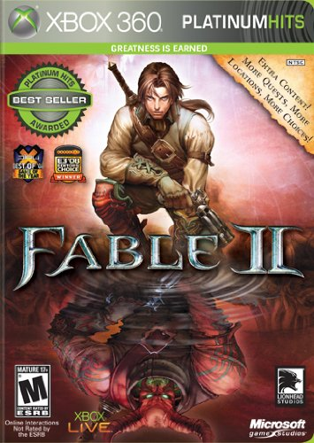 Fable 2 Platinum Hits -Xbox 360 (Fable 2 Best Weapons)