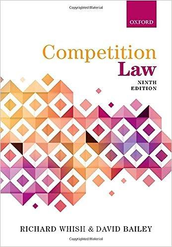Epub Descargar Competition Law