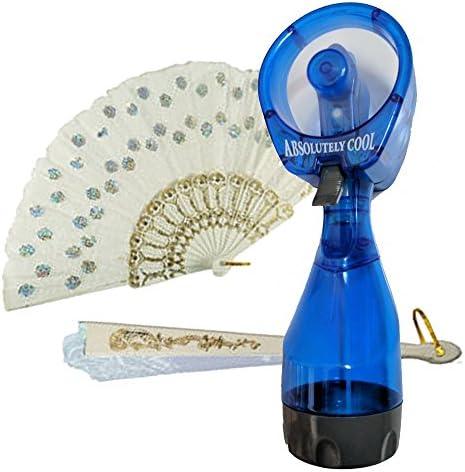 Spritz - Botella de ventilador portátil con spray de agua fría con ...