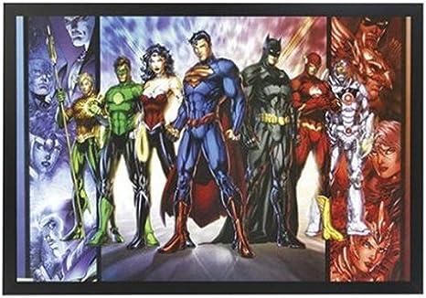 Canvas Art Picture *Choose your size JUSTICE LEAGUE DC COMICS