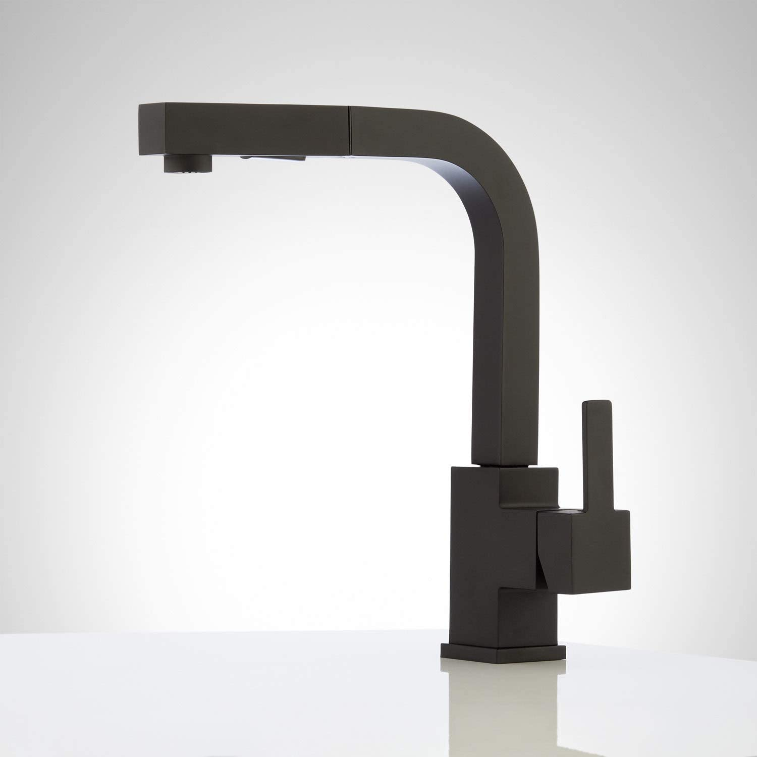 Signature Hardware 941493 Castor Single Hole Pull-Out Kitchen Faucet