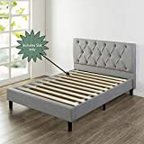 Continental Sleep 1-Inch Standard Mattress Support Wooden Bunkie Board/Slats, Queen, Beige