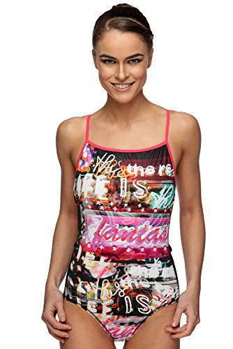 Maru Queen Pacer Vision Back Swimsuit Size 36