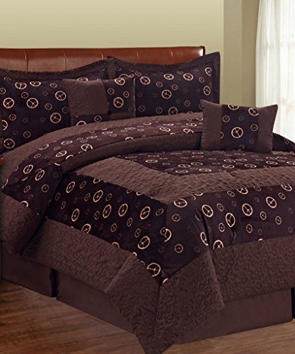 BNF Collection Coffee Microfiber Comforter product image