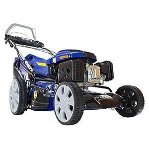 51JujrGh7bL. SS300  - Hyundai 159cc 4-in-1 Self-Propelled Electric Start Petrol Lawn Mower HYM46SPE
