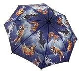 Ladies Umbrella - 'Raining Cats and Dogs' Design Ladies Umbrella (G118)