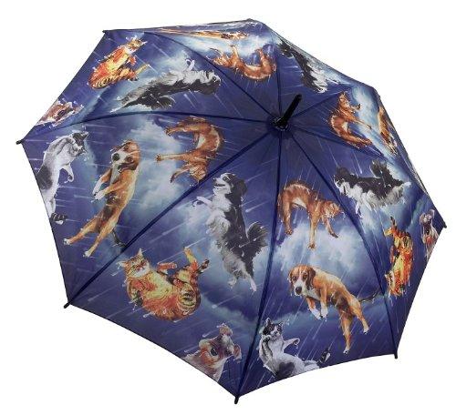 Ladies Umbrella - 'Raining Cats and Dogs' Design Ladies Umbrella (G118) by Galleria