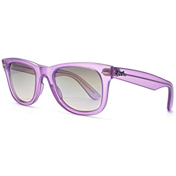 1bf6622bfb Ray-Ban Ice Pops Wayfarer Sunglasses in Strawberry - Matte Ice Violet  RB2140 605632 50
