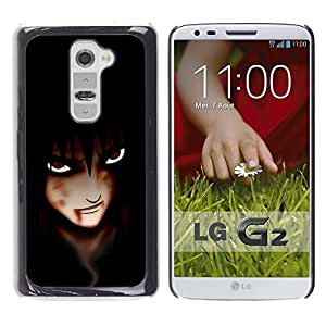 Impact Case Cover with Art Pattern Designs FOR LG G2 Anime Vampire Eyes Betty shop