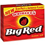 Wrigley Big Red Chewing gum goût Cannelle fort