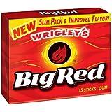 Big Red Cinnamon Chewing Gum (15 sticks)
