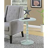 Convenience Concepts Palm Beach Accent End Table, Sea Foam