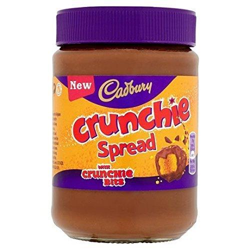 Cadbury Crunchie Chocolate Spread 400G (Pack 3)