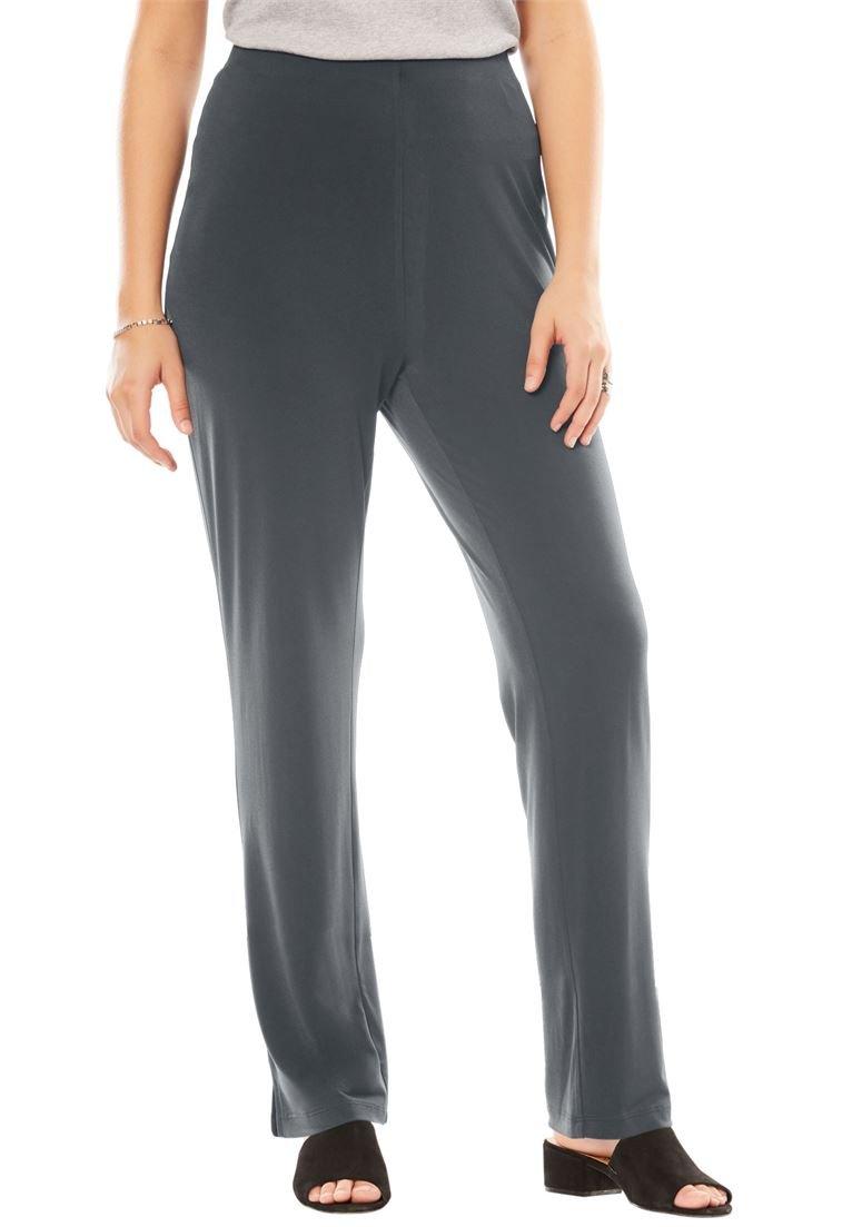 Women's Plus Size Travel Mixer Slim Pant